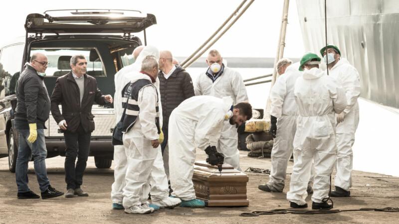 Imigranti morti Marea Mediterana