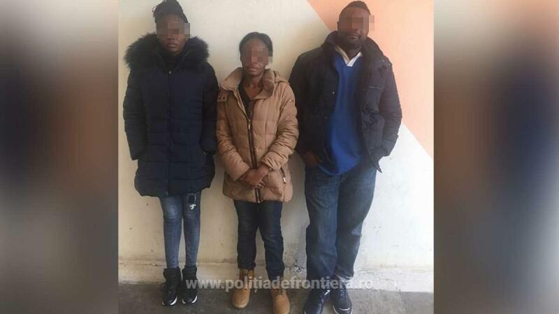 Două tinere congoleze au încercat să iasă din România cu acte false, în care aveau nume austriece