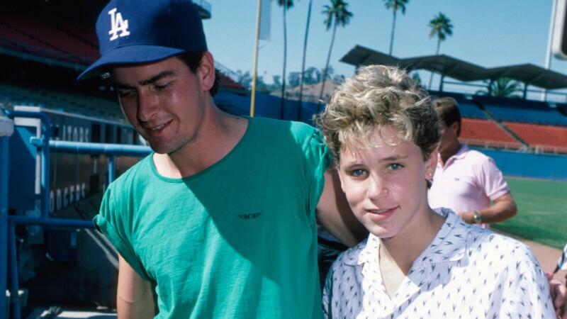 Charlie Sheen si Corey Haim