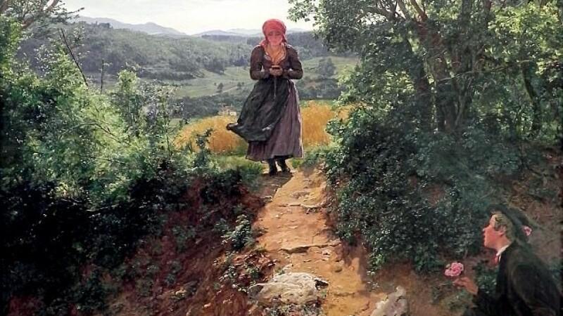 Detaliul surprins intr-o pictura realizata in 1850 a atras atentia pe internet. FOTO