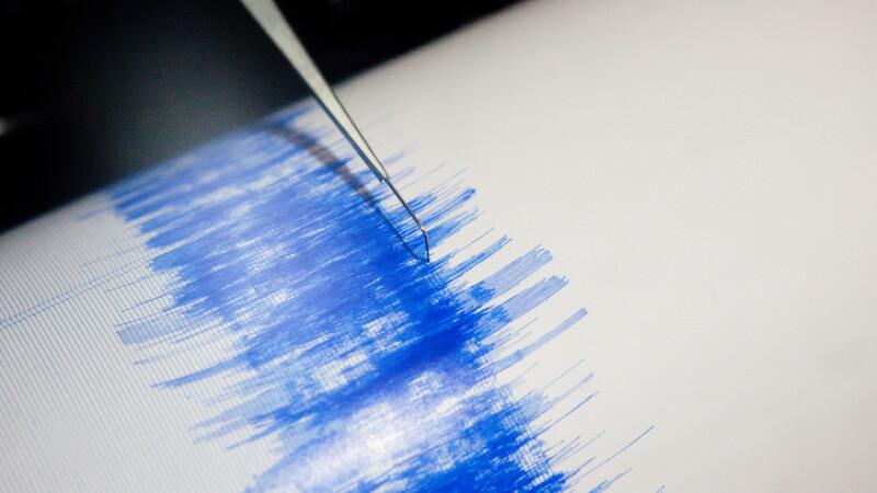 Cutremur în Vrancea, miercuri dimineață