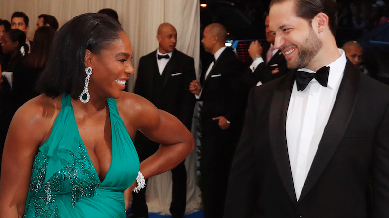 "Serena Williams s-a căsătorit cu Alexis Ohanian. ""Beauty and the Beast"", tema nunții de 1 milion de dolari"