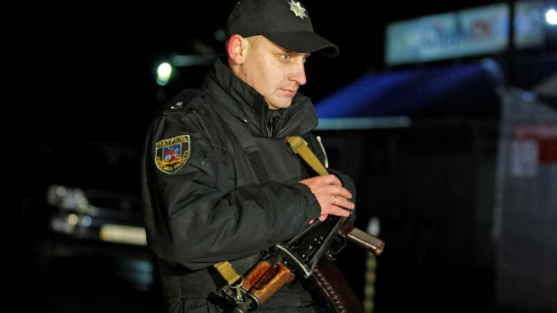 politist din Ucraina