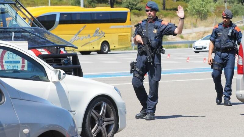 politie in la jonquera