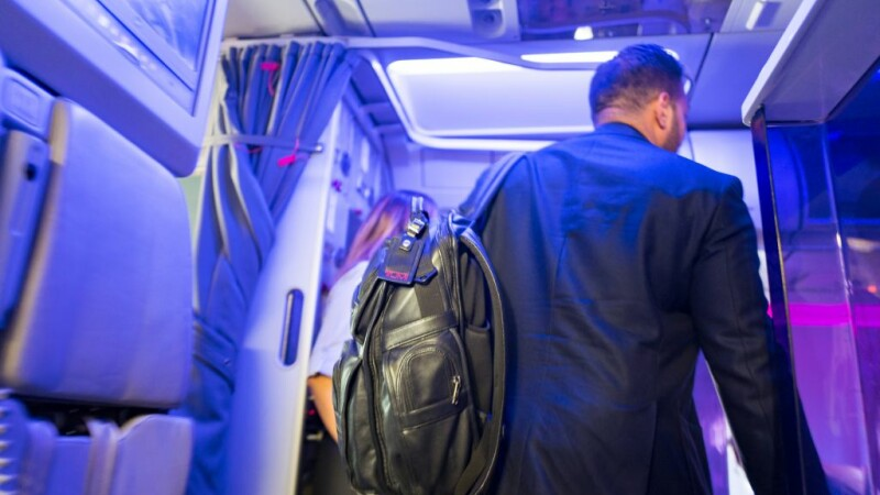 Imbarcare in avion