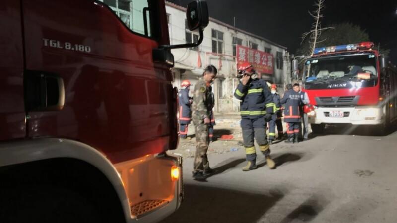 Incendiu in Beijing
