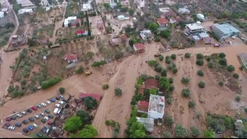 Inundații Grecia