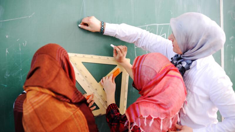 Elevele musulmane