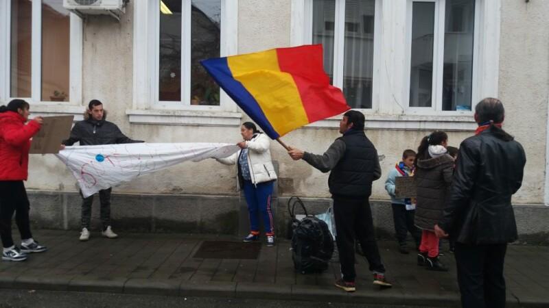 protest romi
