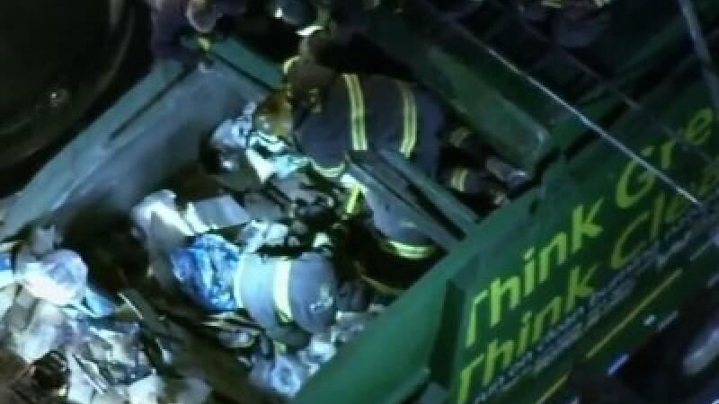 Captiv mașină de gunoi