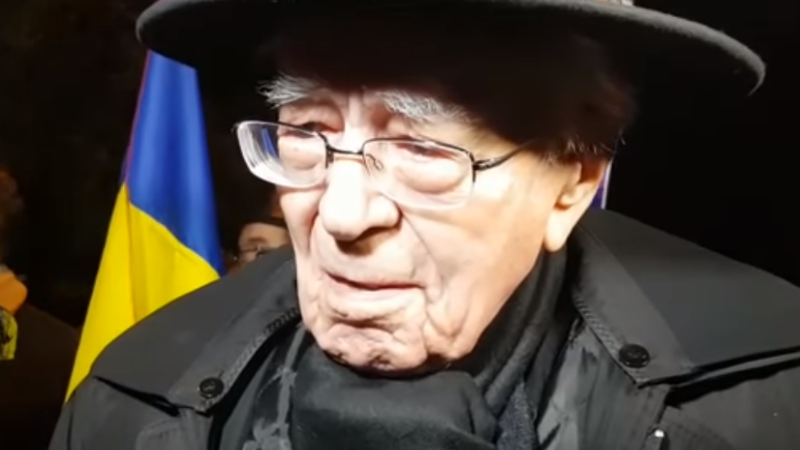 """Filosoful Mihai Şora, despre decizia de schimbare a premierului: """"M-aș mulțumi și cu o oaie"""""""
