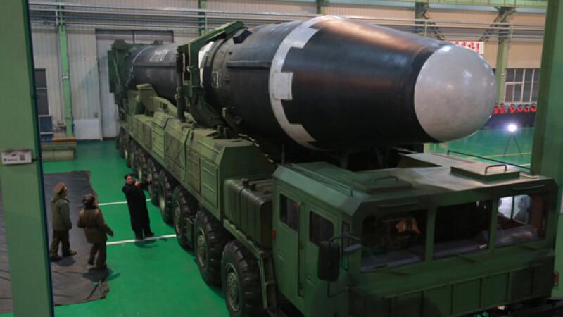Coreea de Nord, lansare racheta, Kim Jong-un - 1