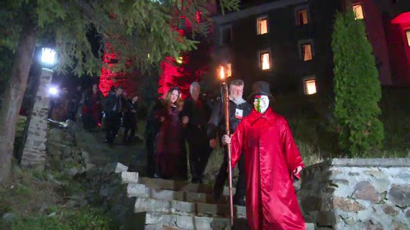 castel Dracula, petrecere
