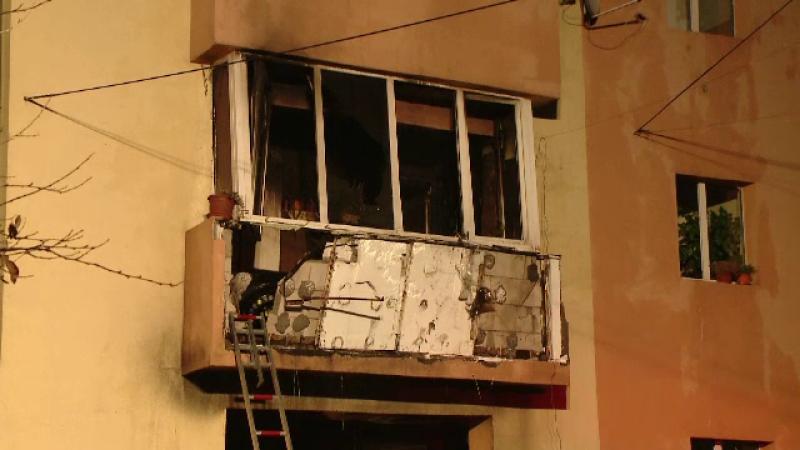 incendiu complex studentesc timisoara, bloc, ars, intentionat, barbat arestat