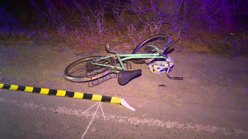 Biciclist ucis