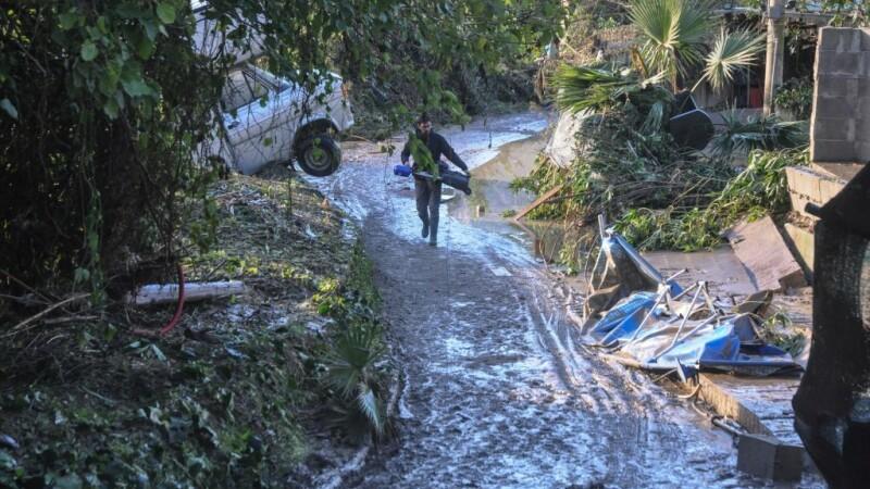 29 de morți în urma inundațiilor din Italia. Imagini filmate cu drona