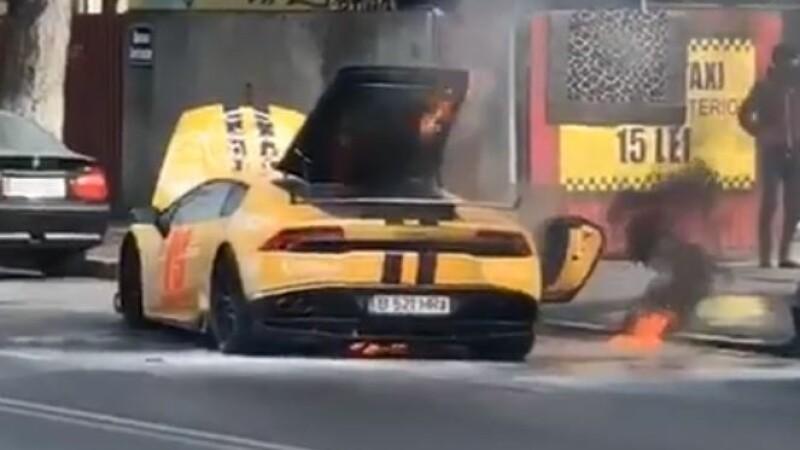 Lamborghini, foc, capitala,