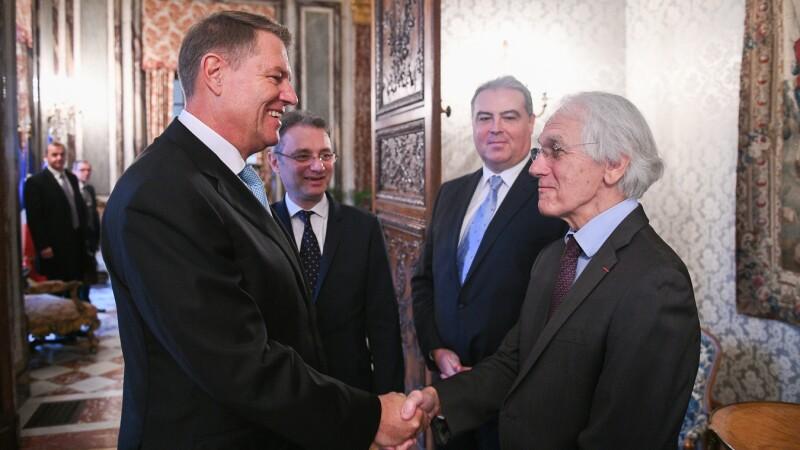Gerard Mourou, Klaus Iohannis