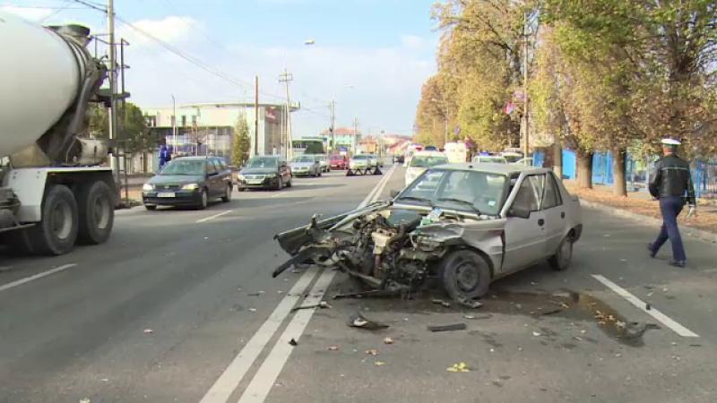 Fetiță de 6 ani, în stare gravă, din cauza unui șofer care a făcut o manevră periculoasă