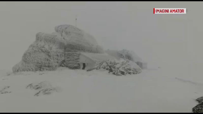 Zona din România în care s-a pornit viscolul. Avertizare de vreme severă în întreaga ţară