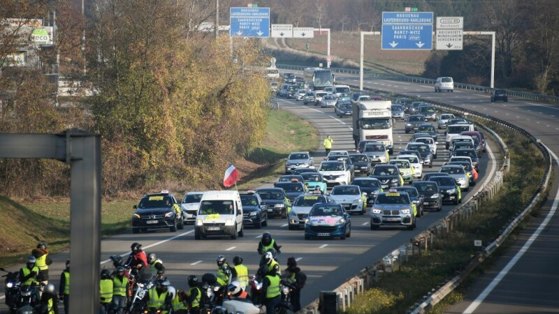 Protestatari Franta