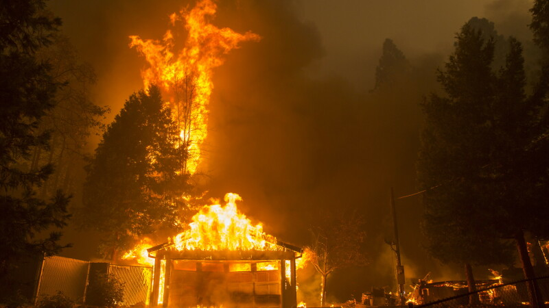 incendiile din California
