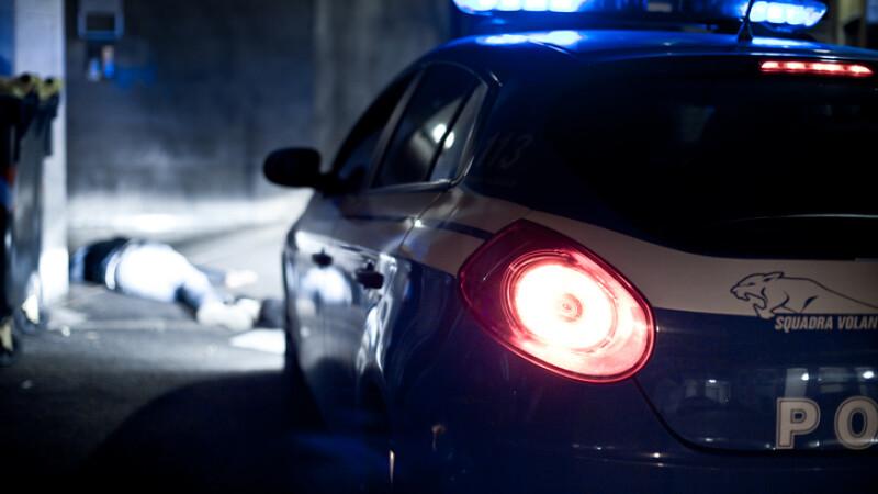 masina de politie italia