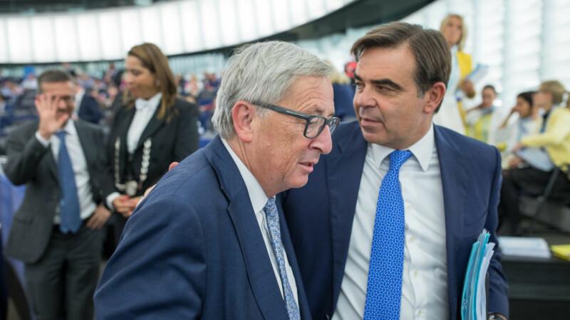 Jean Claude Juncker, Margaritis Schinas