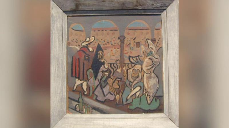 Povestea schiței care ar fi semnată de Pablo Picasso, găsită în Reghin. Cât ar valora lucrarea