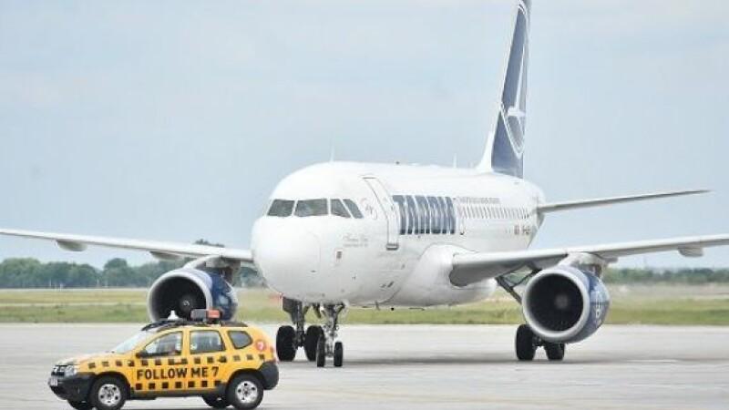 Pasageri debarcați dintr-un avion Tarom, cu destinația Tel Aviv. Ce s-a descoperit la bord