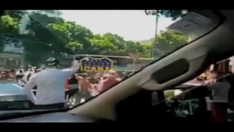 boca river, violente, suporteri, autocar, atacat