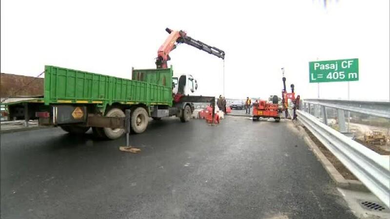 """Prima autostradă urbană nu va fi gata la timp din 2 motive: """"lenea"""" și """"vremea"""""""