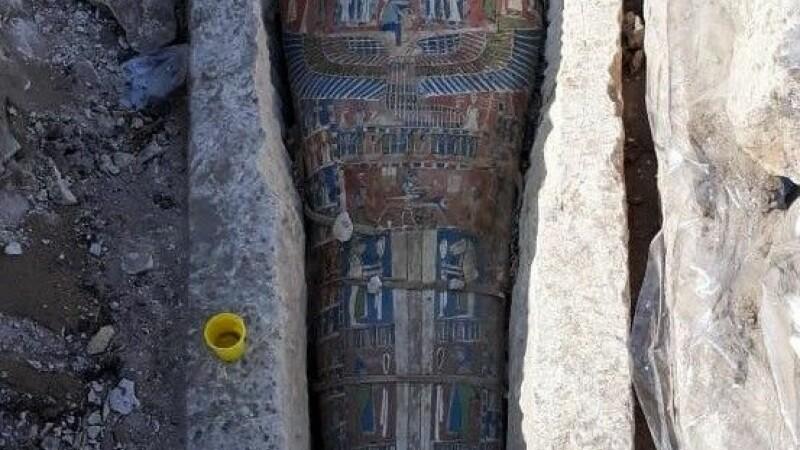 Cairo, antichitate, mumii, descoperire