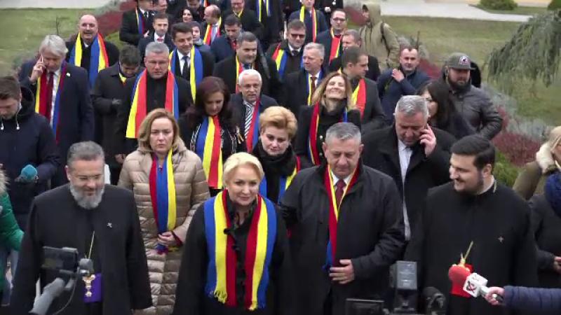 Guvernul Dancila la Alba Iulia
