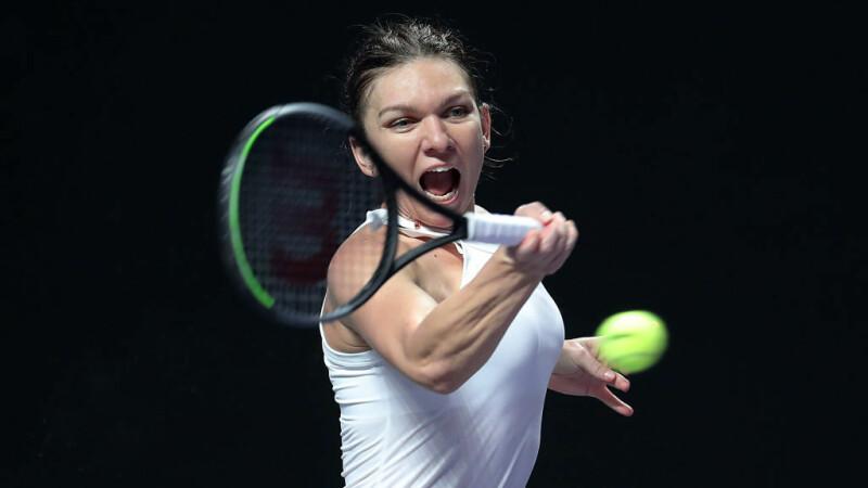 Simona Halep - Karolina Pliskova, Turneul Campioanelor - 4