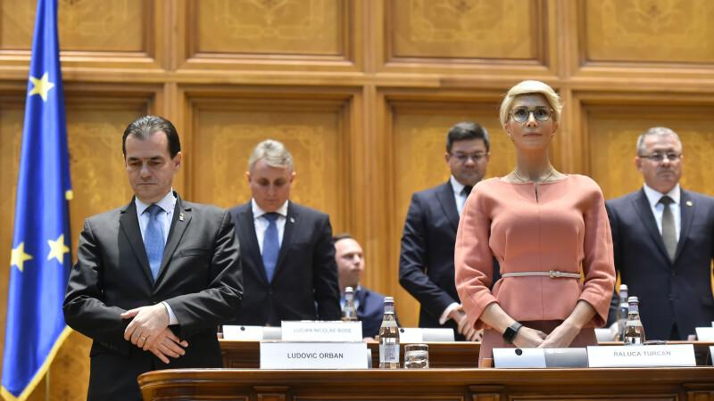 Ludovic Orban, Raluca Turcan, PNL, Parlament