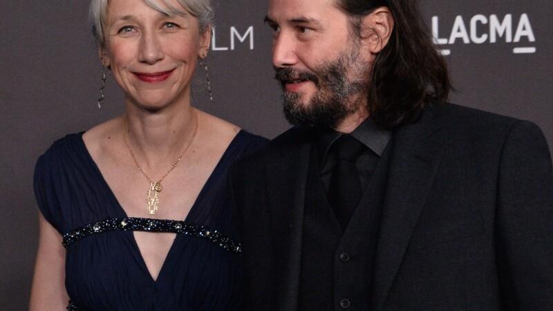Keanu Reeves și-a făcut o iubită după 20 de ani