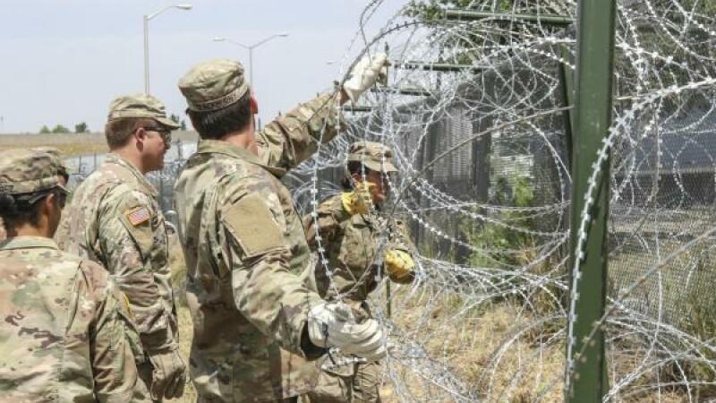 soldati americani la granita cu Mexicul
