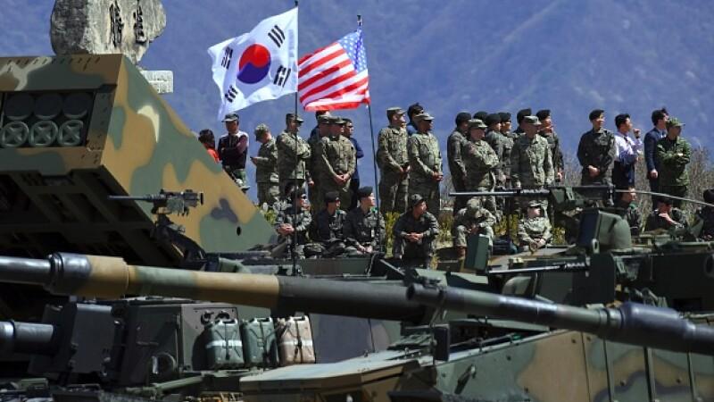 exercitii comune coreea de sud si sua