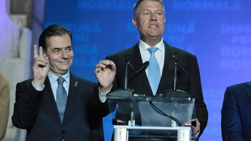 Klaus Iohannis, după exit-poll