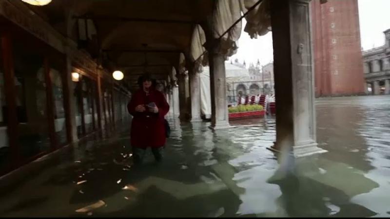 Inundații la Veneția