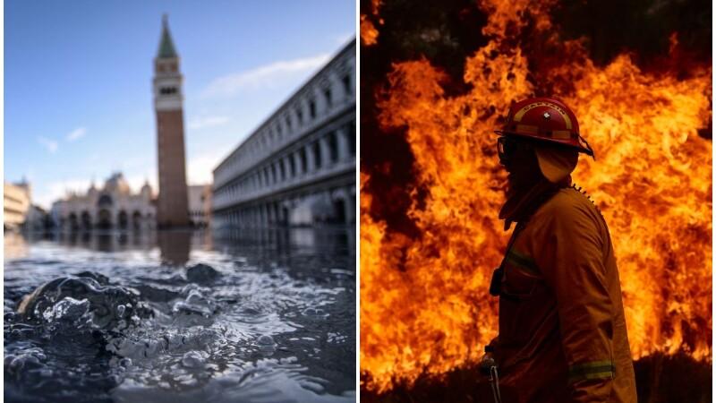 Dezastrele provocate de schimbările climatice