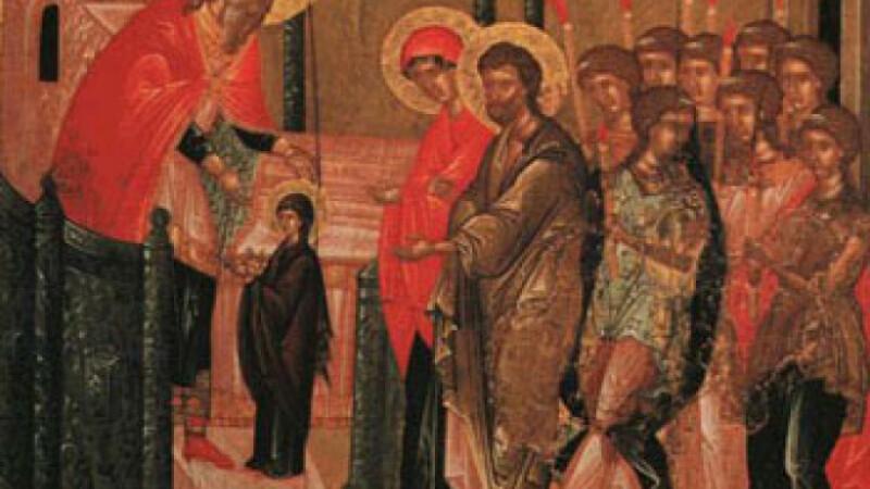 Intrarea Maicii Domnului în Biserică. Tradiții si obiceiuri