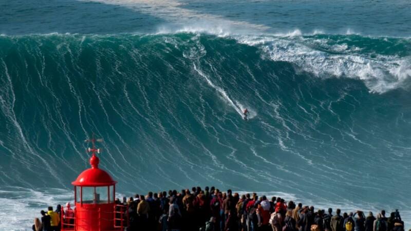 Surfer brazilian, imagini spectaculoase în Portugalia - 2
