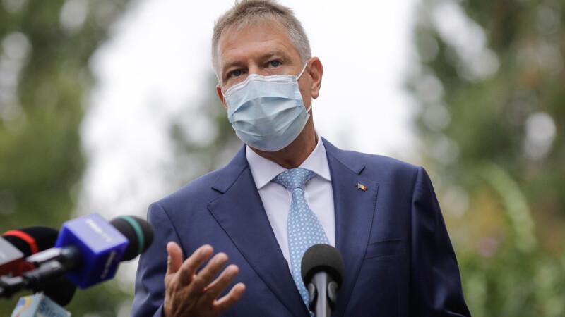 Klaus Iohannis: Campania de vaccinare este chestiune de securitate naţională