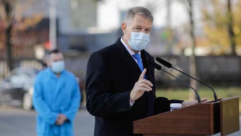 Klaus Iohannis, în ședință cu miniștrii Apărării, Sănătății și de Interne pe tema vaccinării anti-Covid