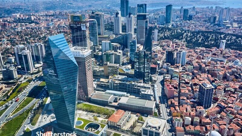 Levent, cartierul financiar din Istanbul