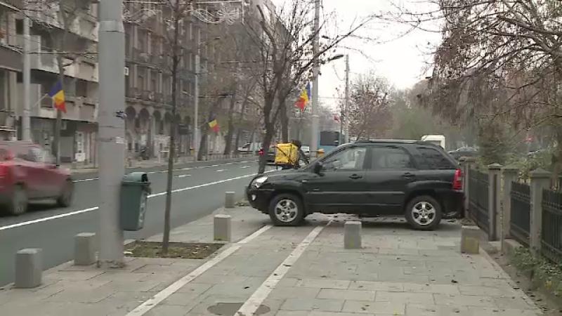 Parcare neregulamentară