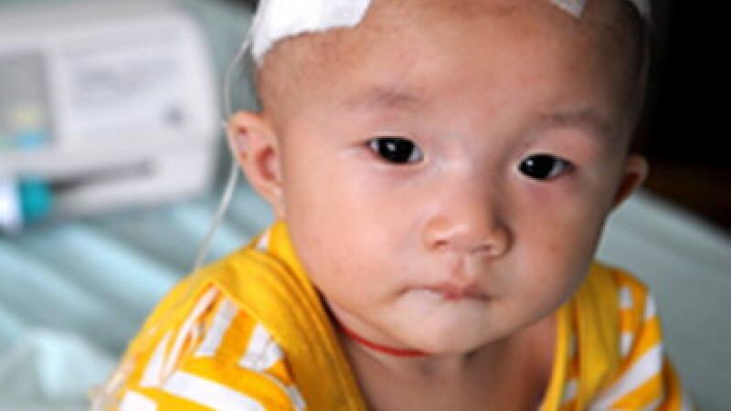 China: melamina depistata in 31 de produse pe baza de lapte praf