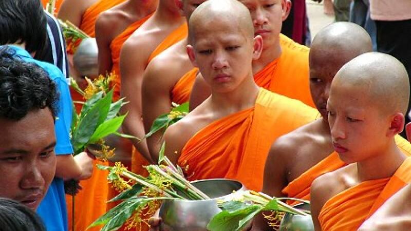 Festivalul lunii in Thailanda